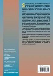 Mathematiques Et Resolution Des Equations Aux Derivees Partielles Classiques - 4ème de couverture - Format classique