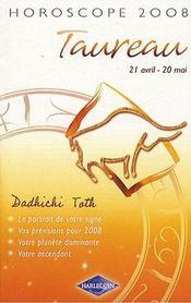 Taureau (édition 2008) - Intérieur - Format classique