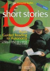 10 short stories volume 1 - anglais - livre de l'eleve - edition 2000 - Intérieur - Format classique