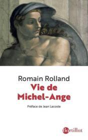 Vie de Michel-Ange - Couverture - Format classique