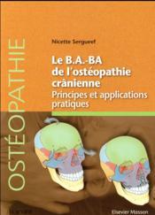 Le B.A..-BA de l'ostéopathie crânienne - Couverture - Format classique