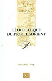 Geopolitique du proche-orient - Intérieur - Format classique