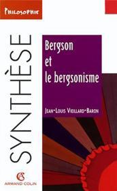 Bergson et le bergsonisme - Couverture - Format classique
