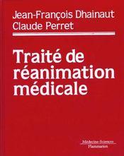 Traite de reanimation medicale - Intérieur - Format classique