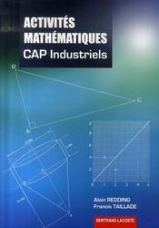 Activités mathématiques ; 2de et terminale ; cap industriels - Intérieur - Format classique