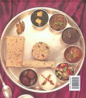 Recettes Indiennes - 4ème de couverture - Format classique