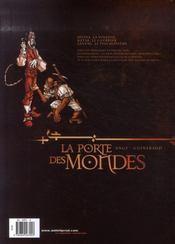 La porte des mondes t.2 ; la clé - 4ème de couverture - Format classique