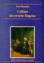 Affaire Du Cornette Elaguine (L') - Couverture - Format classique