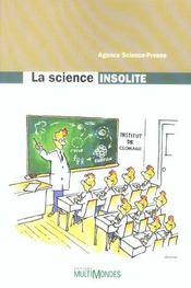 La science insolite - Intérieur - Format classique