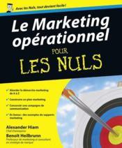 Le marketing opérationnel pour les nuls - Couverture - Format classique