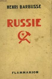 Russie. - Couverture - Format classique