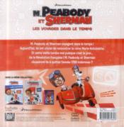 M. Peabody et Sherman ; c'est la révolution ! - 4ème de couverture - Format classique