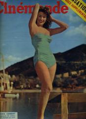 CINEMONDE - 23e ANNEE - N° 1096 - MARA CORDAY baigneuse de cinéma vous souhaite du soleil et du bonheur - Couverture - Format classique