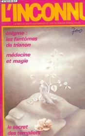 L'Inconnu - N°51 - Couverture - Format classique
