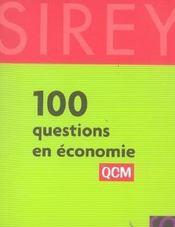 100 questions en économie - Intérieur - Format classique