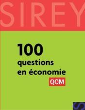100 questions en économie - Couverture - Format classique