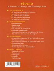 Les Ecrivains Francophones Du Maghreb Les Ecoles Artistiques - 4ème de couverture - Format classique