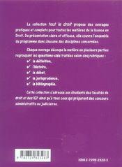 Procedure Penale - 4ème de couverture - Format classique