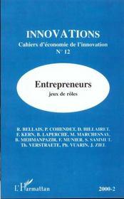 Revue Innovations N.12 ; Entrepreneurs ; Jeux Et Rôles - Intérieur - Format classique