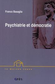 Psychiatrie et démocratie - Intérieur - Format classique