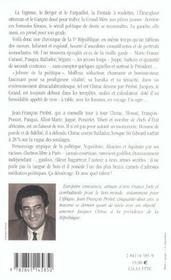 Chirac et dependances - 4ème de couverture - Format classique