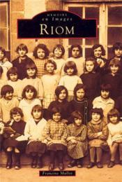 Riom - Couverture - Format classique