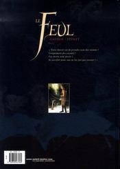 Le feul t.2 ; les brohms - 4ème de couverture - Format classique
