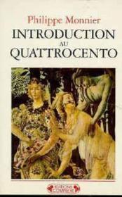Introduction au quattrocento - Couverture - Format classique