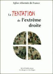 La Tentation De L'Extreme-Droite - Couverture - Format classique