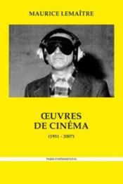 Oeuvres De Cinéma (1951-2007) - Couverture - Format classique