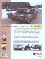 M1 Abrams - 4ème de couverture - Format classique