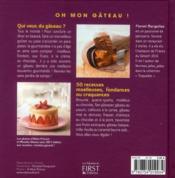 Oh mon gâteau ! - 4ème de couverture - Format classique