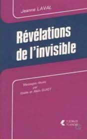 Revelations De L'Invisible - Couverture - Format classique