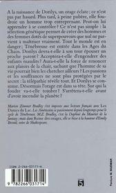Tenebreuse T.2 La Reine Des Orages - 4ème de couverture - Format classique