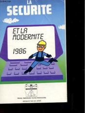 Agenda 1986 - La Securite Et La Modernite - Manpower - Couverture - Format classique