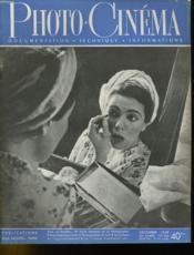 PHOTO CINEMA N°566 - 28e ANNEE - Couverture - Format classique