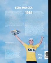 1969 ; l'année Eddy Merckx - 4ème de couverture - Format classique
