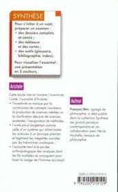 Aristote - Couverture - Format classique