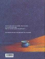 Pipi de nuit - 4ème de couverture - Format classique