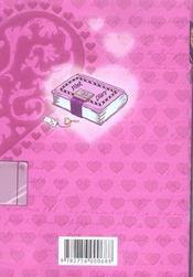Pink diary T.1 - 4ème de couverture - Format classique