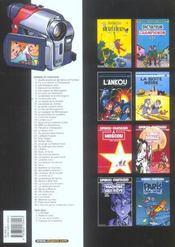 Les aventures de Spirou et Fantasio T.48 ; l'homme qui ne voulait pas mourir - 4ème de couverture - Format classique