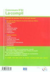 Concours ifsi la compil - 4ème de couverture - Format classique