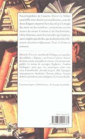 Encyclopaedia inutilis - 4ème de couverture - Format classique