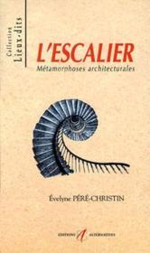 L'Escalier - Couverture - Format classique