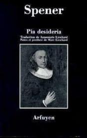 Pia desideria - Couverture - Format classique