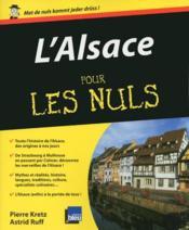 L'Alsace pour les nuls - Couverture - Format classique