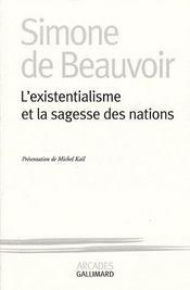 L'existentialisme et la sagesse des Nations - Intérieur - Format classique