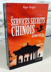 Les services secrets chinois. De Mao aux JO. - Couverture - Format classique