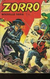 Zorro - Nouvelle Serie - N°1 - Couverture - Format classique