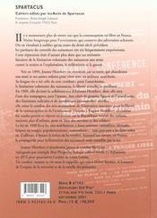 Jeanne humbert et la lutte pour le controle des naissances b162 - 4ème de couverture - Format classique